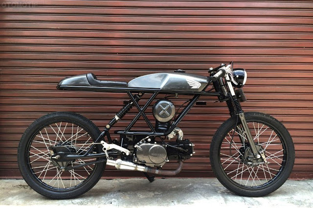 honda win do cafe racer 6 - Honda Win độ Cafe Racer